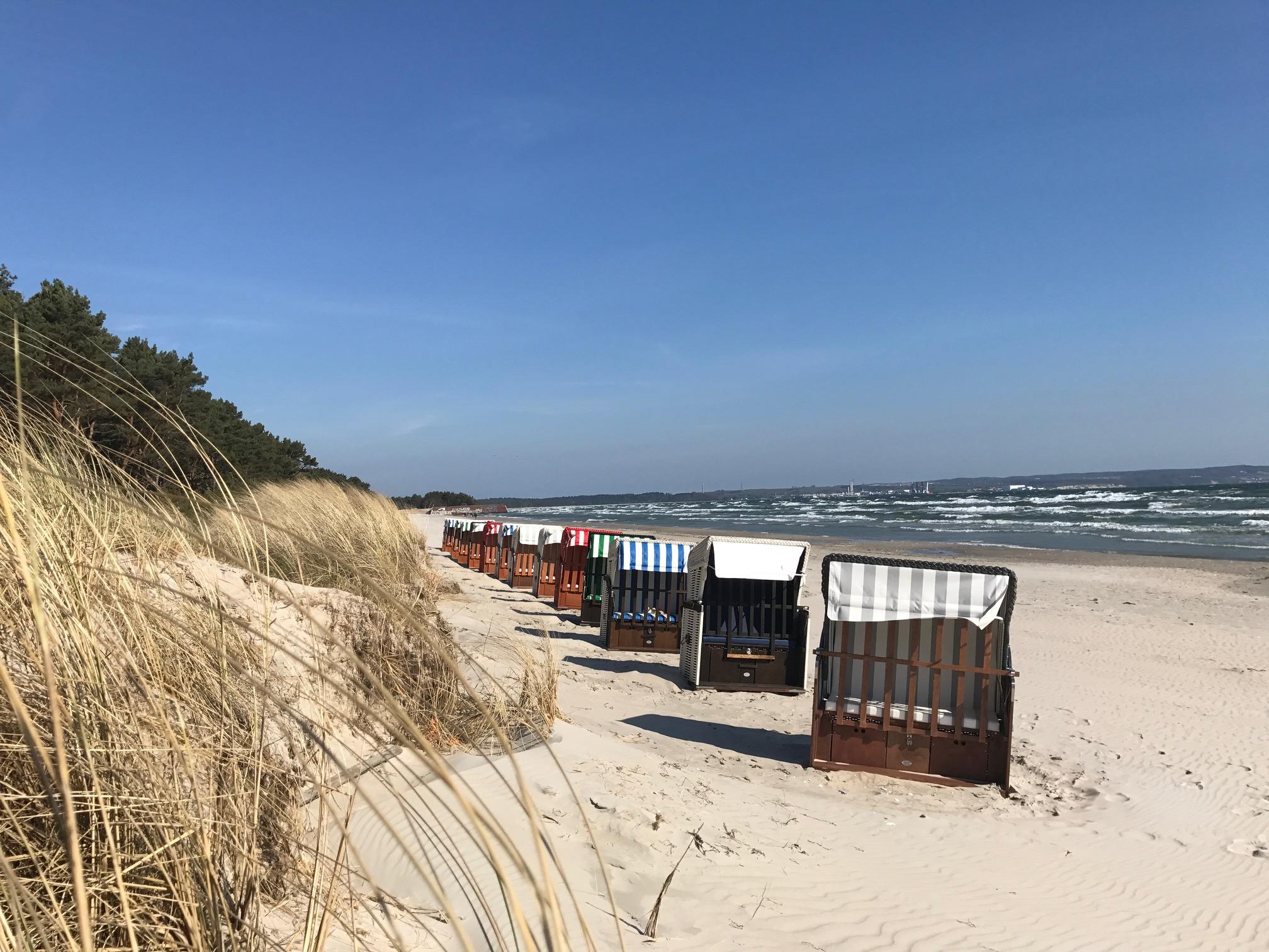 Strandimpressionen Prorer Wiek